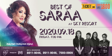 """Best of Saraa"" Golden hits live performance"